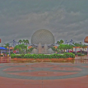 Spaceship Earth, Rainy Day